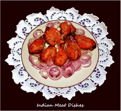 Indian meat dishes