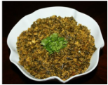 Chicken with spinach keema