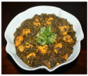 Chicken with spinach curry / Chicken Saag
