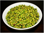 Muttar chat - Sukhi Muttar (Green peas)