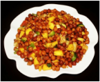 Kala chana chat