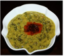 Moong Dal with spinach