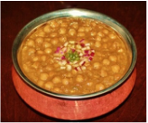Chole / Chick pea curry
