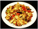 Chicken Stir fry Kebabs