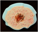 Gajar ka Raita / Yogurt with Carrot