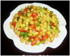 Chickpea salad - Indian spicy chickpea salad