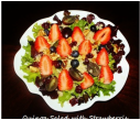 Quinoa Salad with Strawberrie, Blueberries & Grape salad
